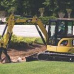 CAT 305 mini excavator