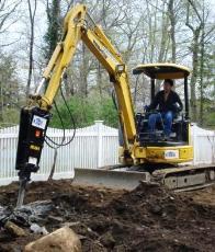 hydraulic hammer 750