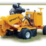 hydraulic stump grinder