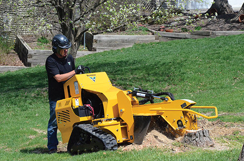 Vermeer Stump Grinder For Sale >> 25 hp Stump Grinder for Rent | Decker Tool Rental