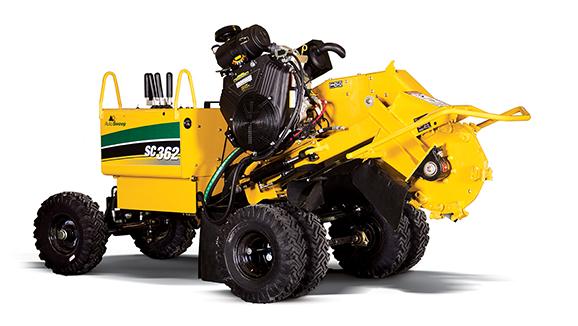 Hydraulic Stump Grinder 39hp Diesel Decker Tool Rental